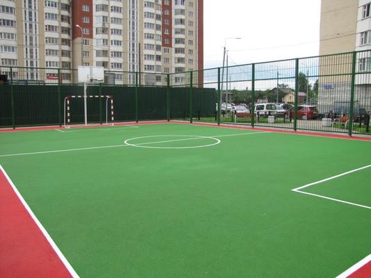 Резиновое покрытие для спортивных площадок